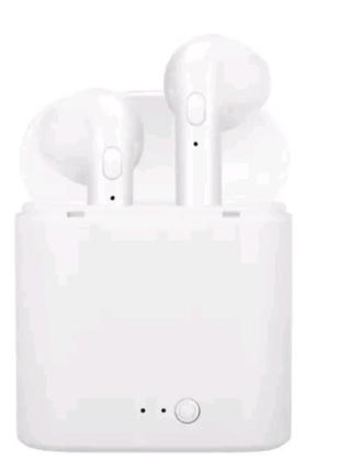 Блютуз навушники i7s безпровідні Bluetooth наушники Аирподс