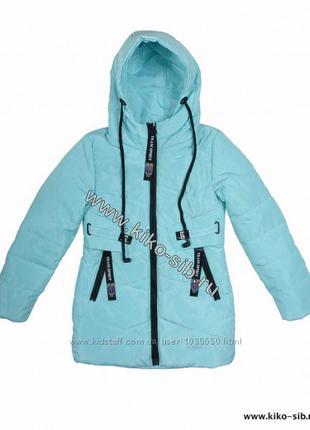 Демисезонная куртка Delfin free на девочку с наушниками