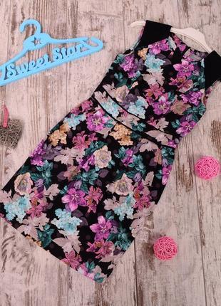 Платье с цветами dorothy perkins