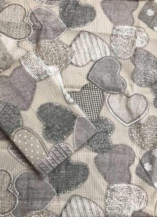 Постельное белье сердца полуторка двуспальное евро семейное