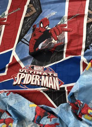 Постельный комплект для мальчика человек паук компания