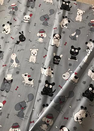 Постельный комплект с собачками для девочки или мальчика