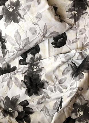 Комплект постельного белья бязь голд темные цветы