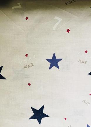 Постельный комплект звезды бязь голд