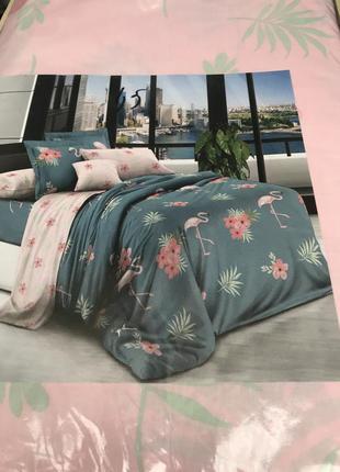 Постельный комплект фламинго компания