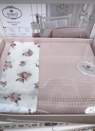 Элитное постельное белье турецкое с покрывалом