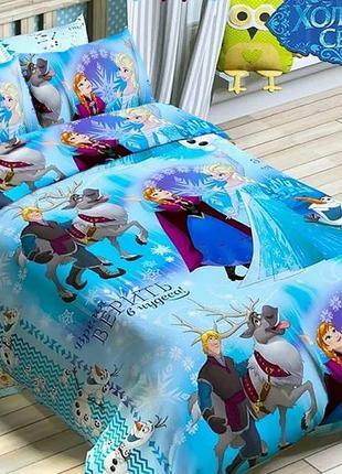Комплект постельного белья для девочки холодное сердце анна и ...
