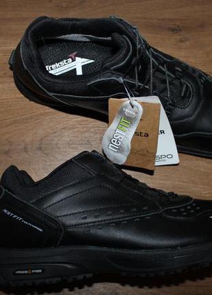 Кожаные кроссовки Treksta Handsfree 108