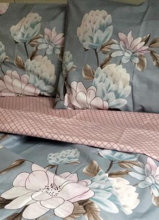 Комплект постельного белья цветы бязь голд