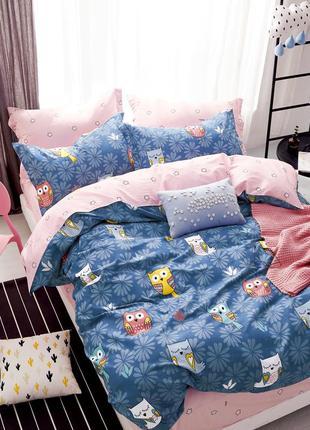 Сатиновый постельный комплект детская расцветка