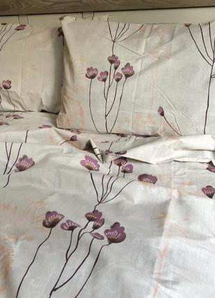Комплект постельного белья из бязевой ткани