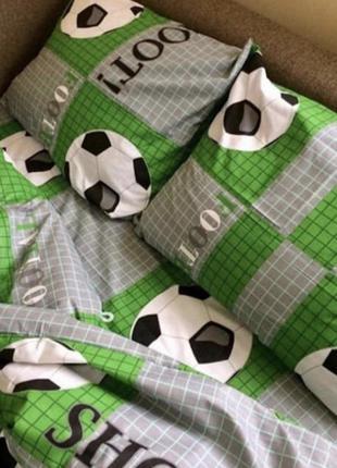 Постельный комплект для мальчика футбол