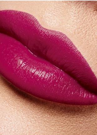Полуматовая губная помада «овация», тон «вишневый сатин»