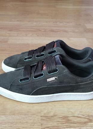 Замшевые кроссовки puma 39 размера в идеальном состоянии