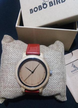 Красивенные женские деревянные часы bobo bird