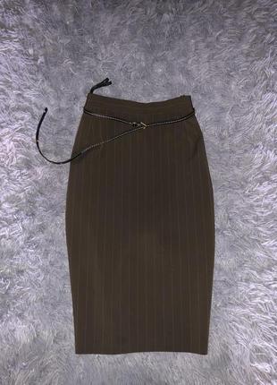 Стильная/модная/офисная юбка темный шоколад. от бренда betty b...