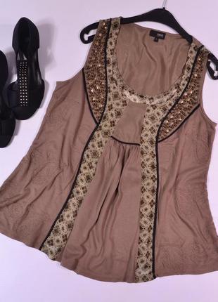 Оригинальная блуза с декором next