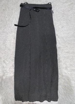 Моднейшая юбка в горох на худенькую девушку!в пол
