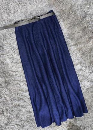 Тёплая зимняя юбка безразмерная liar