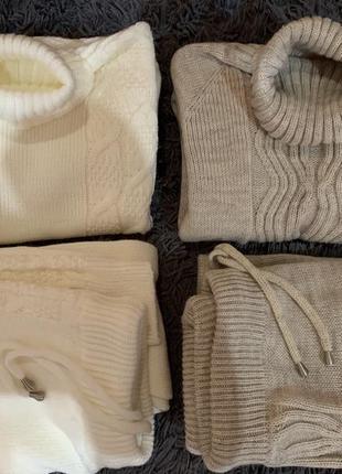 Тёплые вязаные бесшовные брючные  костюмы распродажа