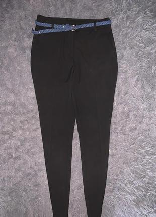 Брендовые классические чёрные брюки  noisy may