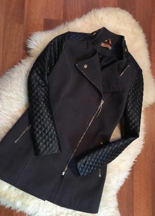Актуальное пальто косуха