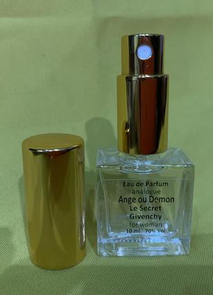 Миниатюра парфюмерная вода givenchy ange ou demon le secret