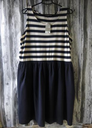 Новое летнее платье большой размер батал размер 54-56