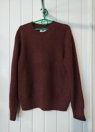 Супер шерстяной женский свитер