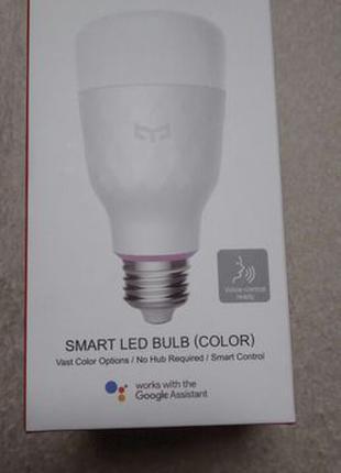Умная лампа Xiaomi Yeelight Colorful LED Smart Bulb 2 YLDP06YL