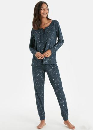 Пижама пижамка комплект кофта и штаны брюки