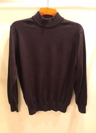 Мужской шерстяной свитер marks & spencer