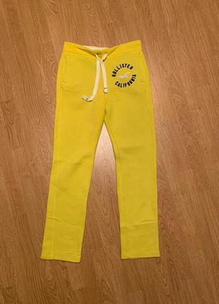 Теплые спортивные штаны hollister