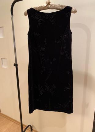 Коктейльное велюровое платье для мероприятия / вечеринки