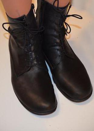 Ботинки vabene супер мягкая кожа весна, снижена цена на всю об...