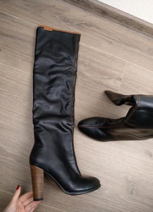 Сапоги сапожки черные размер 36