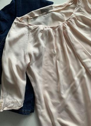 Блузка цвета пудры