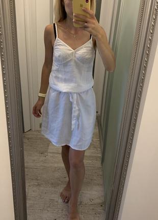 Льняное платье лляное платье