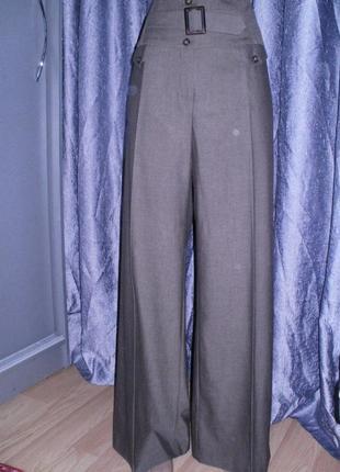 Классические штаны некст 12рр. высокая талия