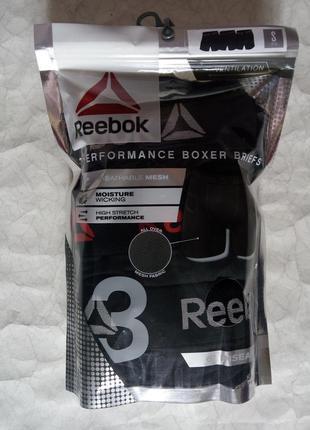 Чоловічі труси боксери reebok high-performance mesh boxer ps о...