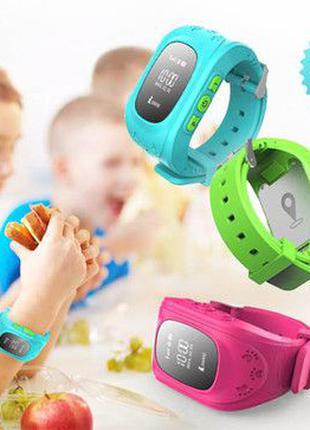 Детские смарт-часы Smart Baby Watch Q50 с GPS трекером