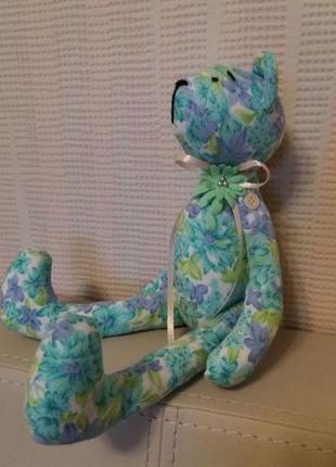 Мишки текстильные Тильда Подарок ручная работа 8марта