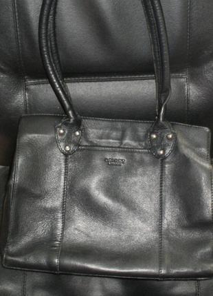 Osprey london. кожаная сумка.