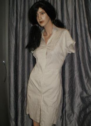 Новое хлопковое платье. с бирками.