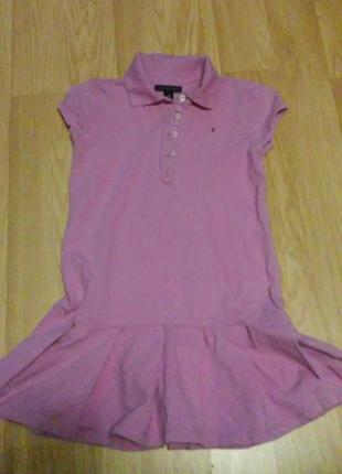 Платье томми хилфигер. оригинал. на 8-10 лет.
