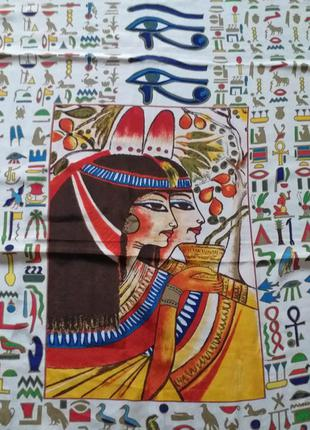 Cairo collection  большой  шелковый платок