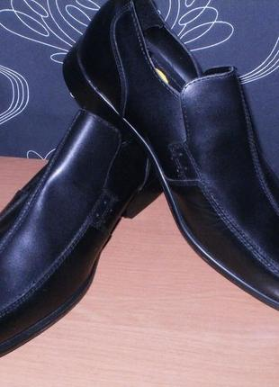 George мужские туфли 8 размер. стелька 28,3 см