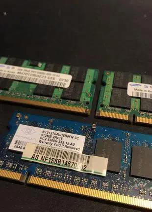 Оперативная память для ноутбука SODIMM DDR2 1 Gb PC-5300 667 333