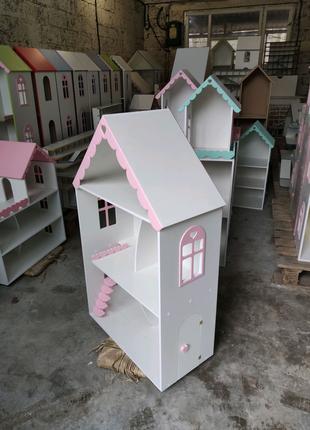 В наличии! Кукольный домик модель Хельга ляльковий будинок барби