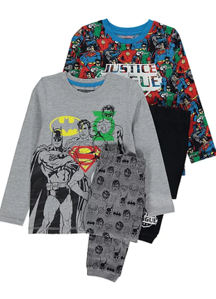 Пижама, набор пижам для мальчика george, герои marvel,размер 6...